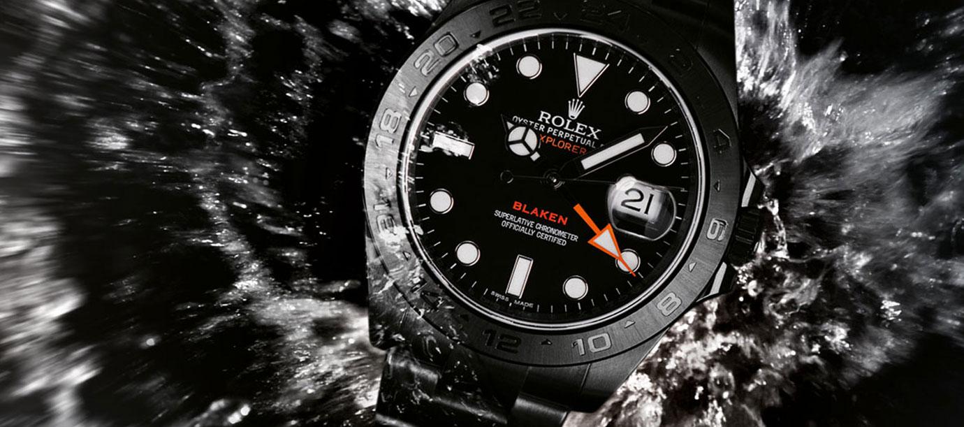 黑色星期五限定:勁黑有型高級改裝錶