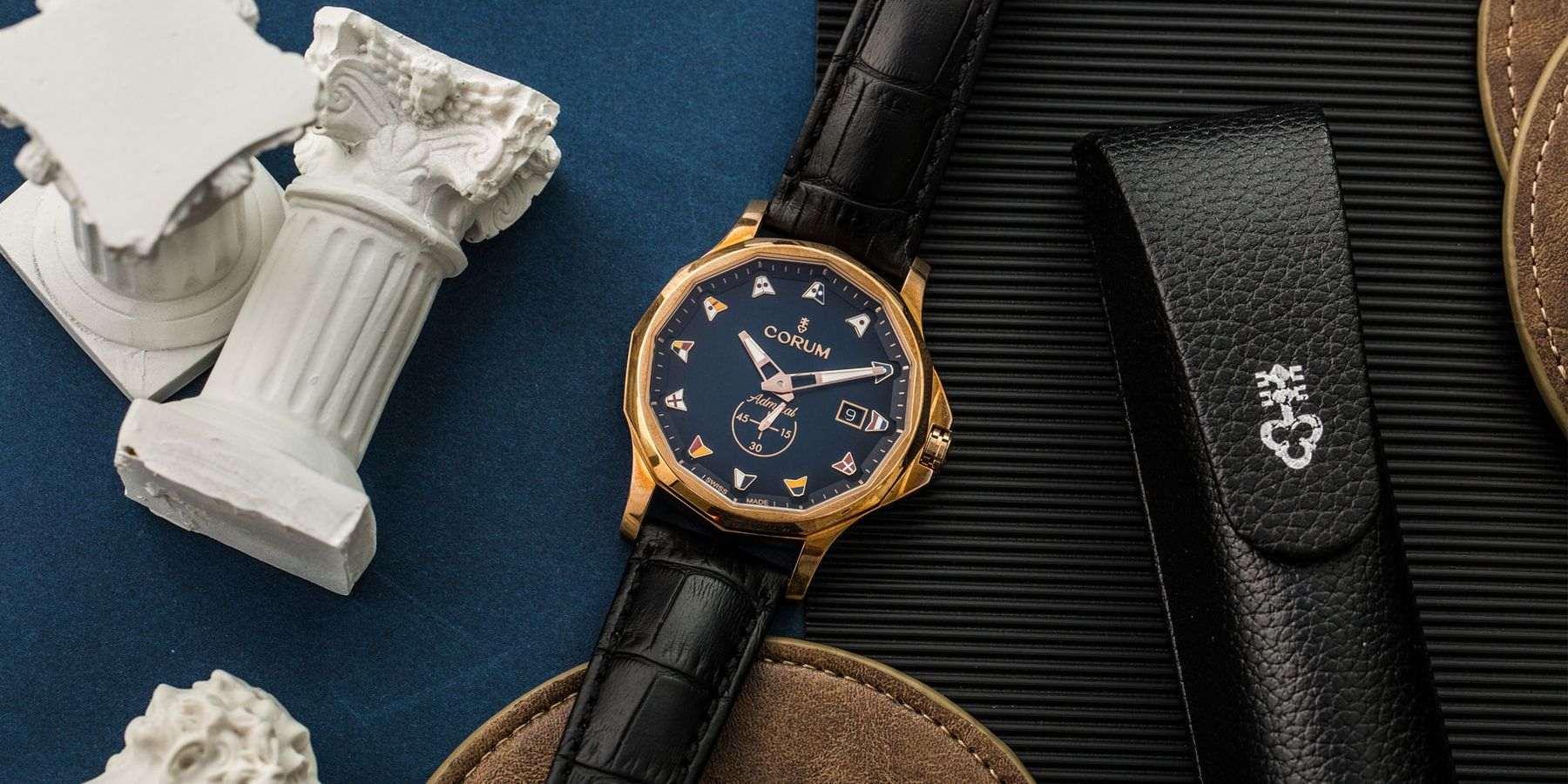 【每週一錶】用自己的語言說時間:CORUM Admiral Legend 42 Bronze