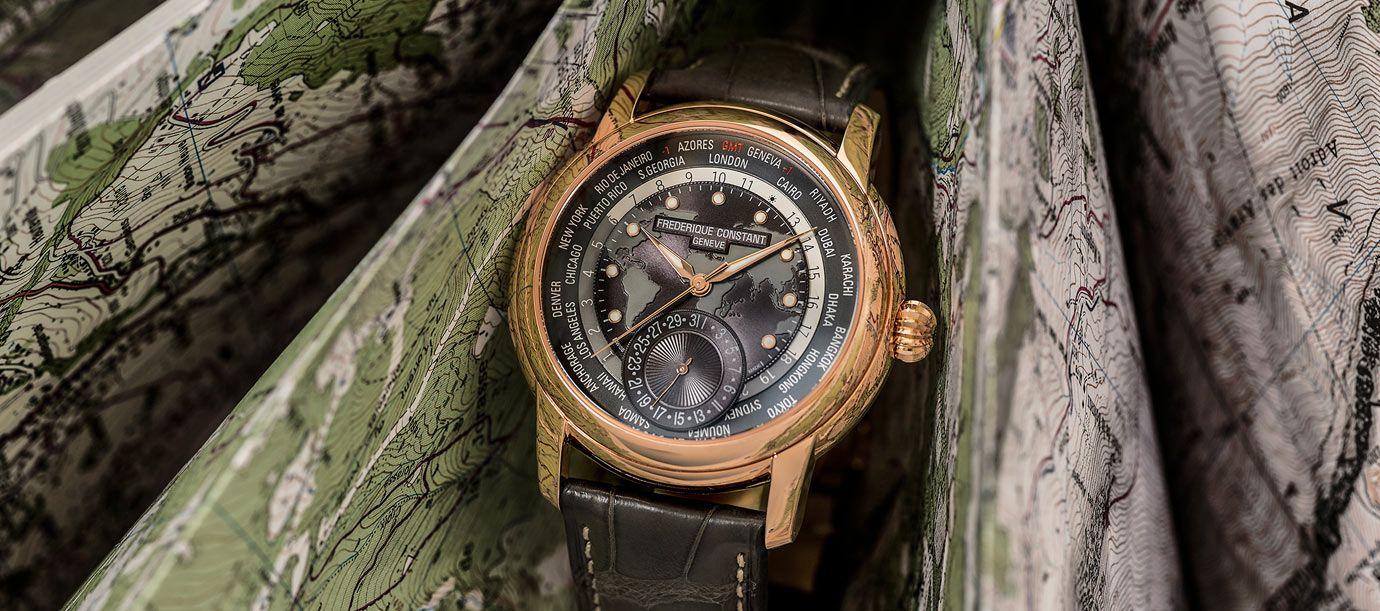 替世界時區換上新色彩:康斯登Classic Worldtimer Manufacture腕錶