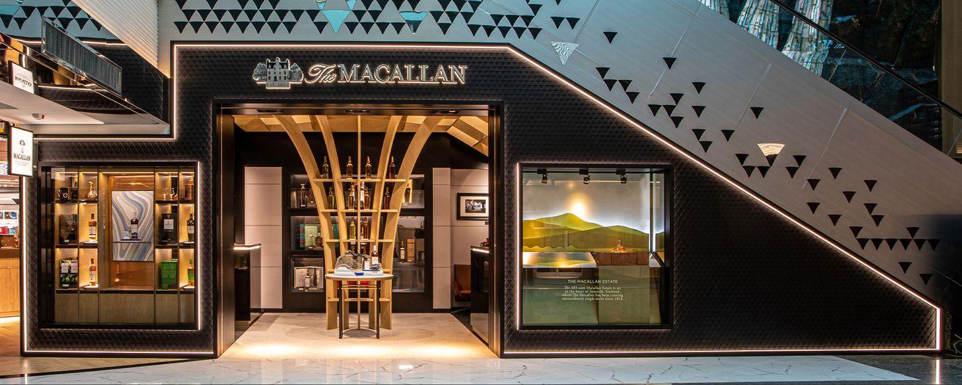 麥卡倫桃機免稅旗艦店再升級 72年威士忌水晶瓶鎮店