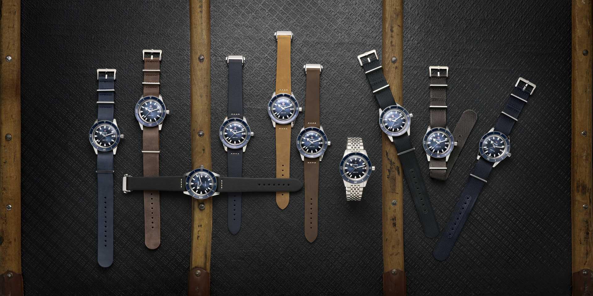 型男必備的百搭單品:備有十款快拆錶帶的Rado雷達表Captain Cook庫克船長復刻自動腕錶