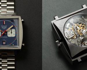 手工雕刻Calibre 11機芯太狂:TAG Heuer Monaco Piece d'Art腕錶