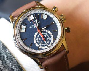 【每週一錶】美麗的佈局與配色:百達翡麗Ref. 5960/01G年曆計時碼錶
