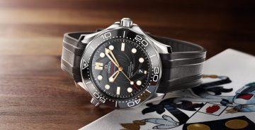 歐米茄隆重推出海馬潛水300米「詹姆士.龐德」限量版腕錶組