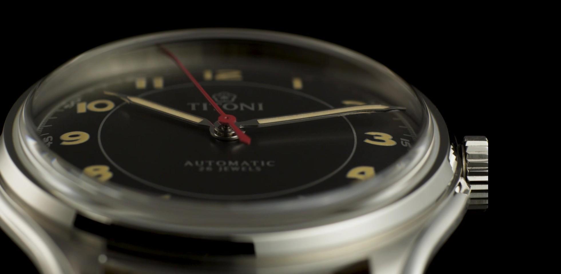 重現1948年「不朽的計時工具」,TITONI Heritage傳承系列腕錶引領新魅力年代