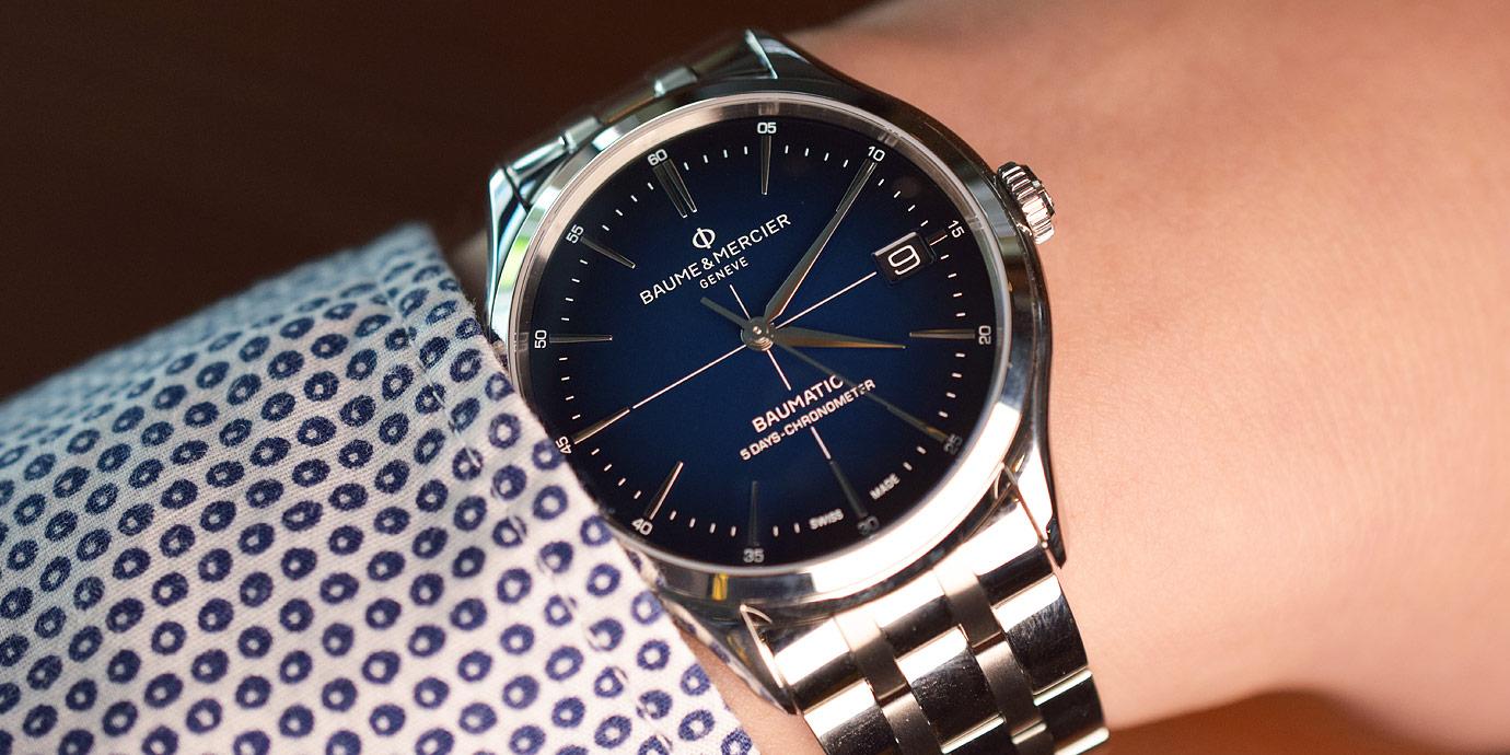 【每週一錶】晉升紳士好選擇:Baume & Mercier Clifton Baumatic