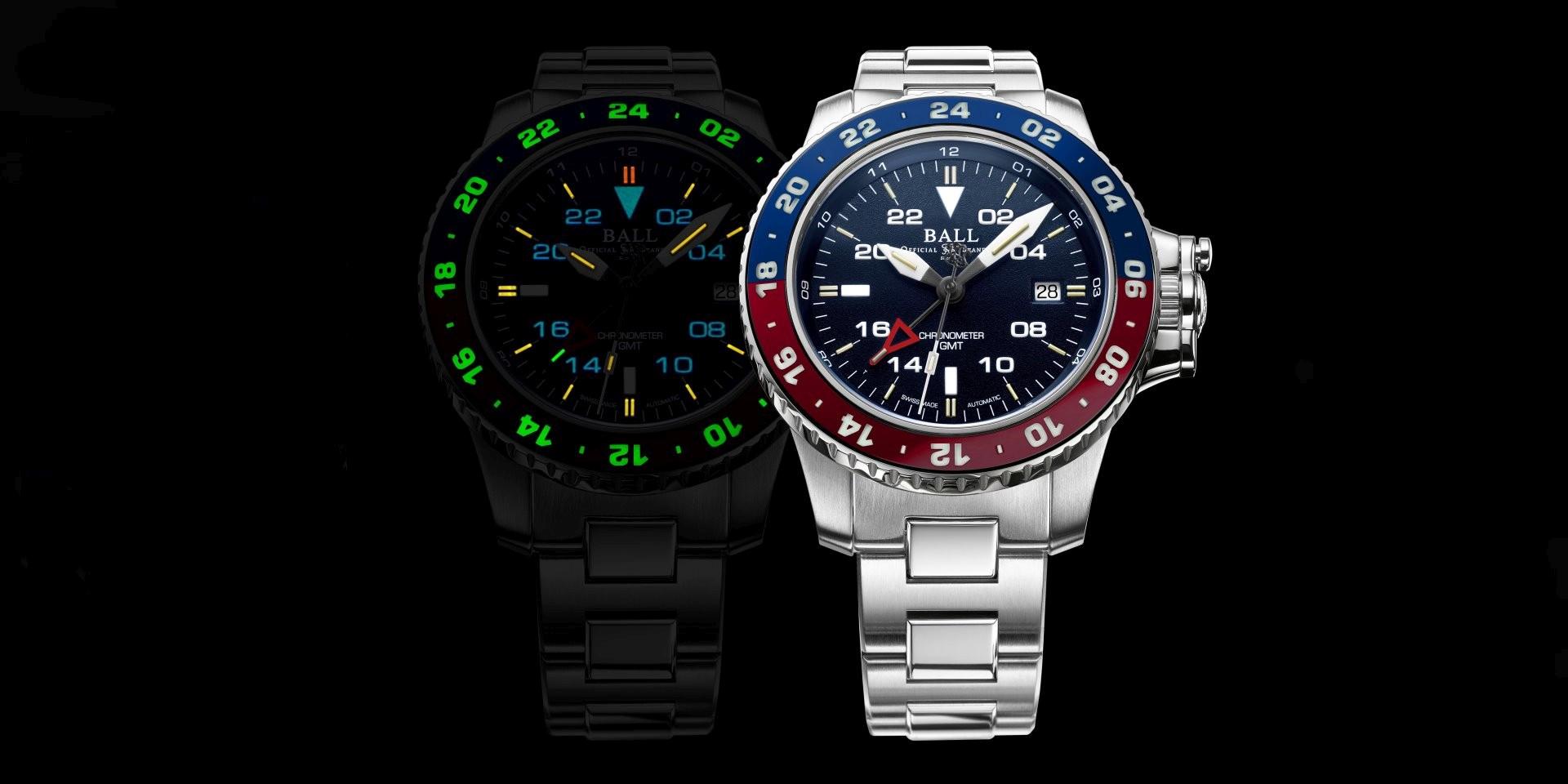 高飛上青天,暗夜更閃亮:BALL Watch Engineer Hydrocarbon AeroGMT II 於12日起在台南中國鐘錶公司及台中寶島鐘錶名店舉辦展售會