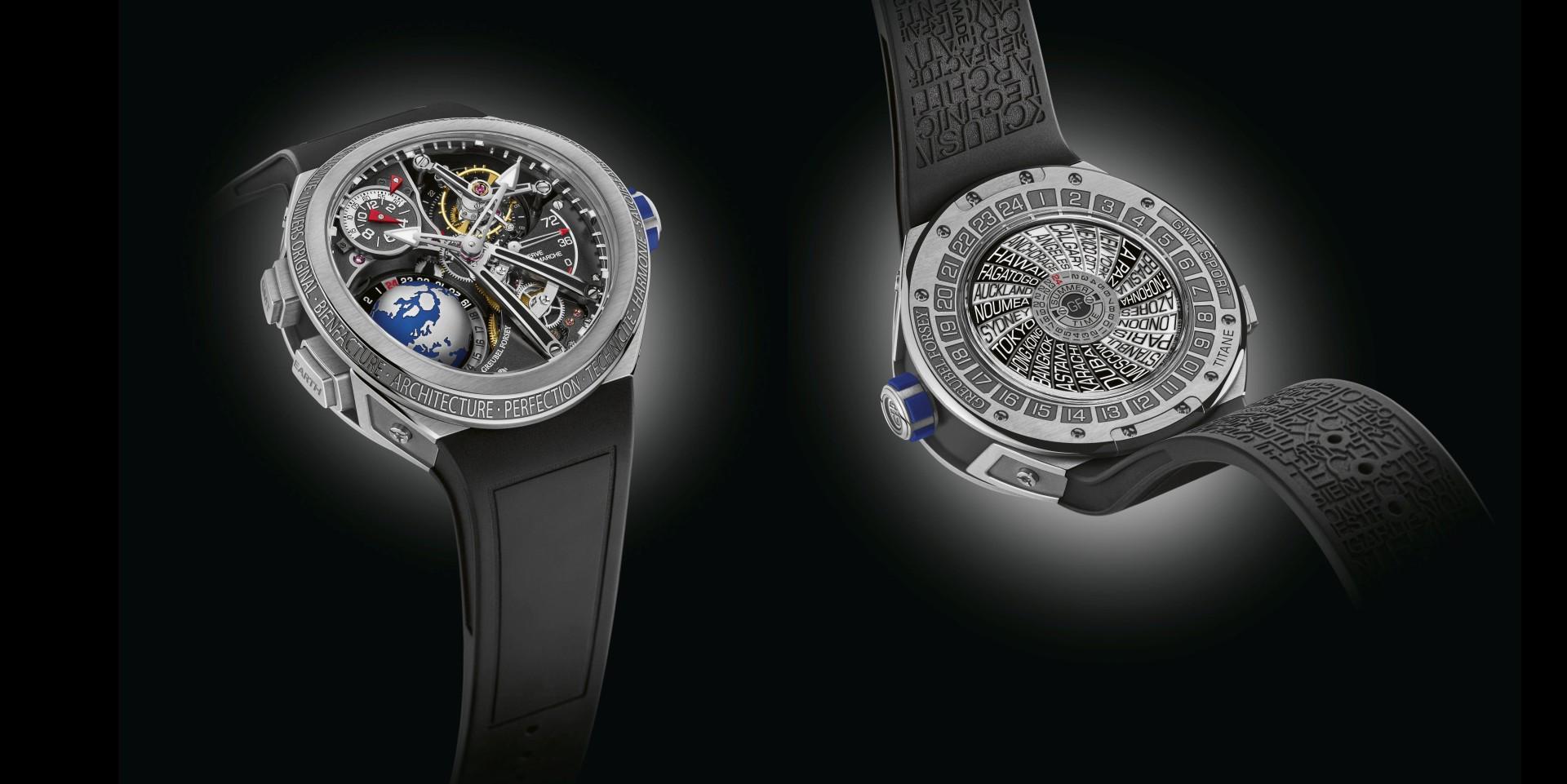極致自信的人體工學時計: Greubel Forsey GMT Sport運動款腕錶