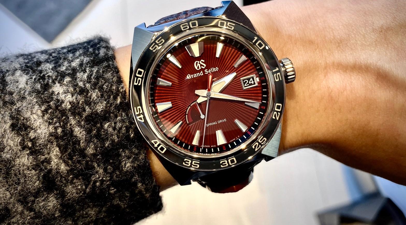 傳奇巨獸震撼現身:Grand Seiko X 哥吉拉 65周年聯名限量錶款