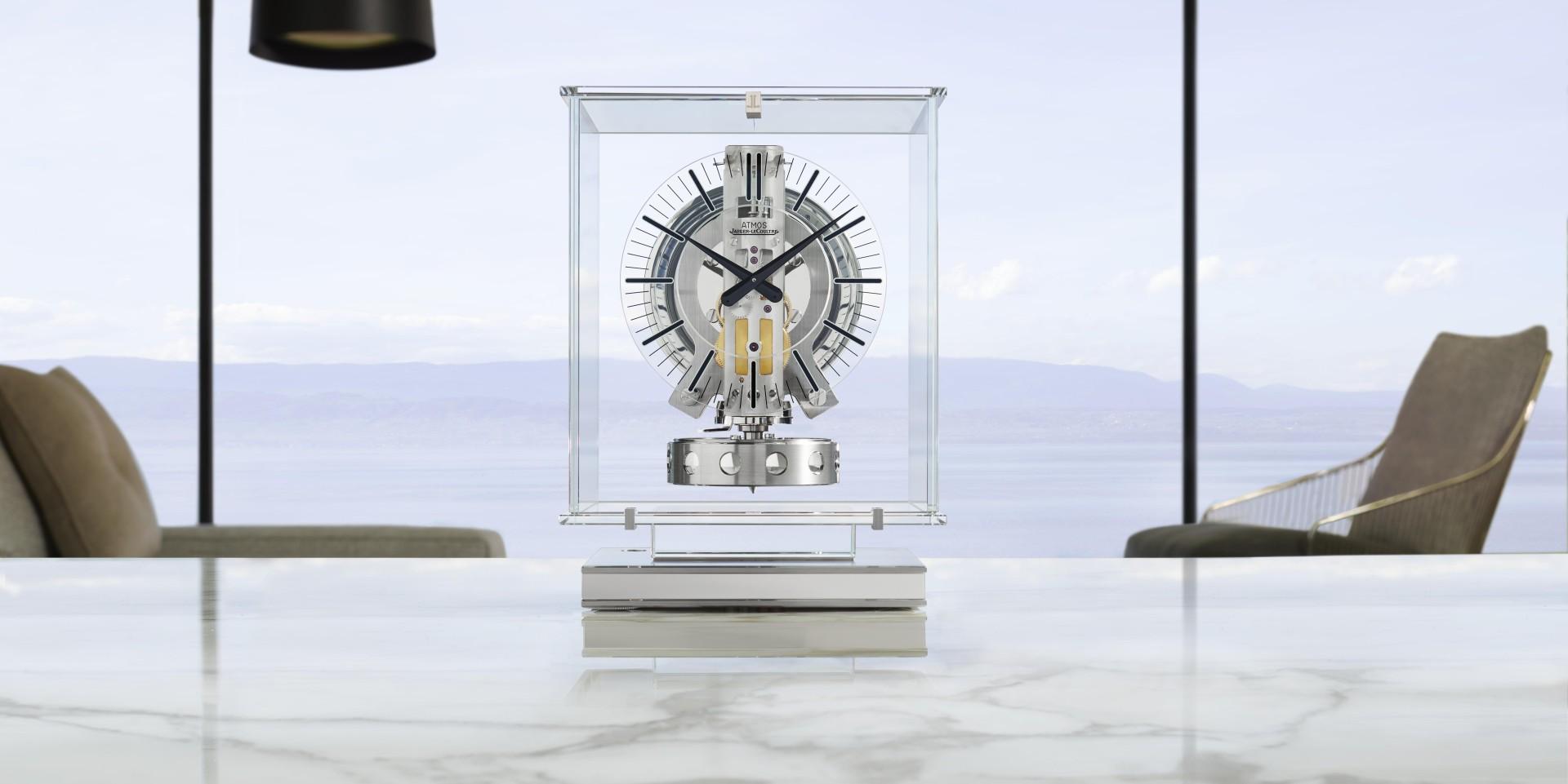 如夢似幻的透明感:積家Atomos Transparente透明空氣鐘