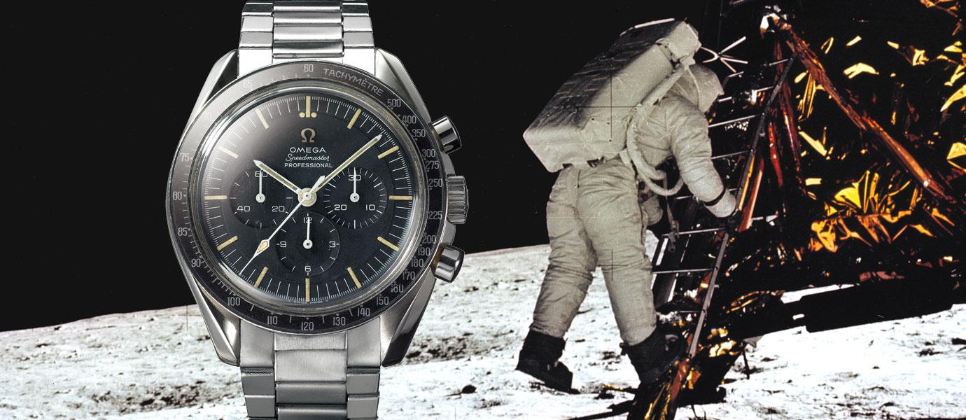 半世紀的驕傲:見證人類一大步-登月錶