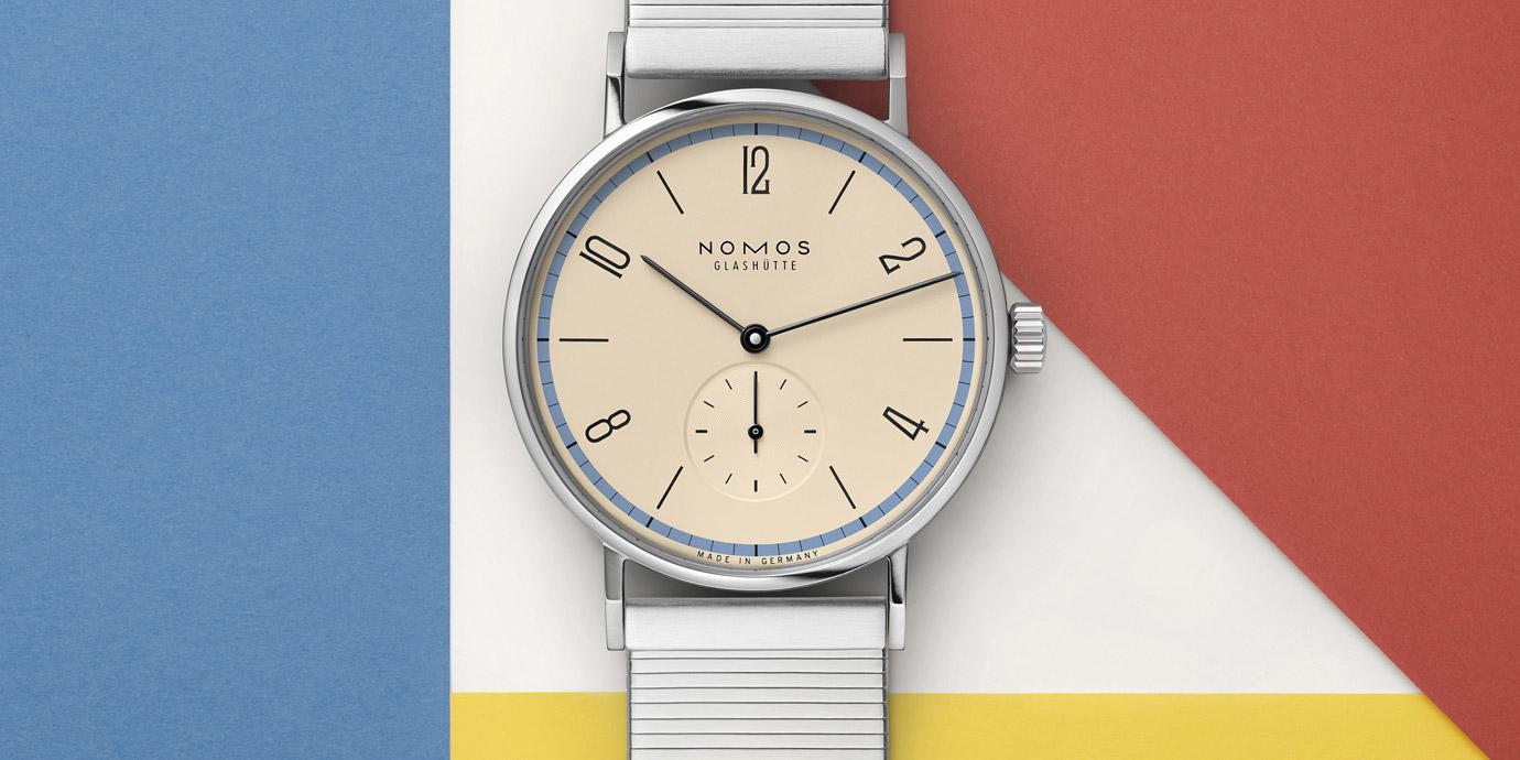 慶祝德國包豪斯運動百年:NOMOS推出Tangomat紀念款腕錶