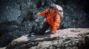 沛納海新聘【Free Solo】奧斯卡紀錄片金獎導演及冒險運動家Jimmy Chin為品牌大使