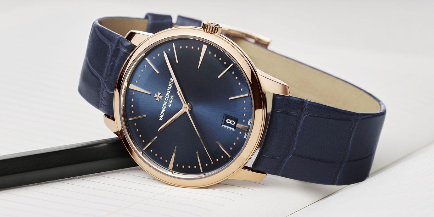 午夜藍的簡約優雅新姿:江詩丹頓Patrimony自動上鍊腕錶