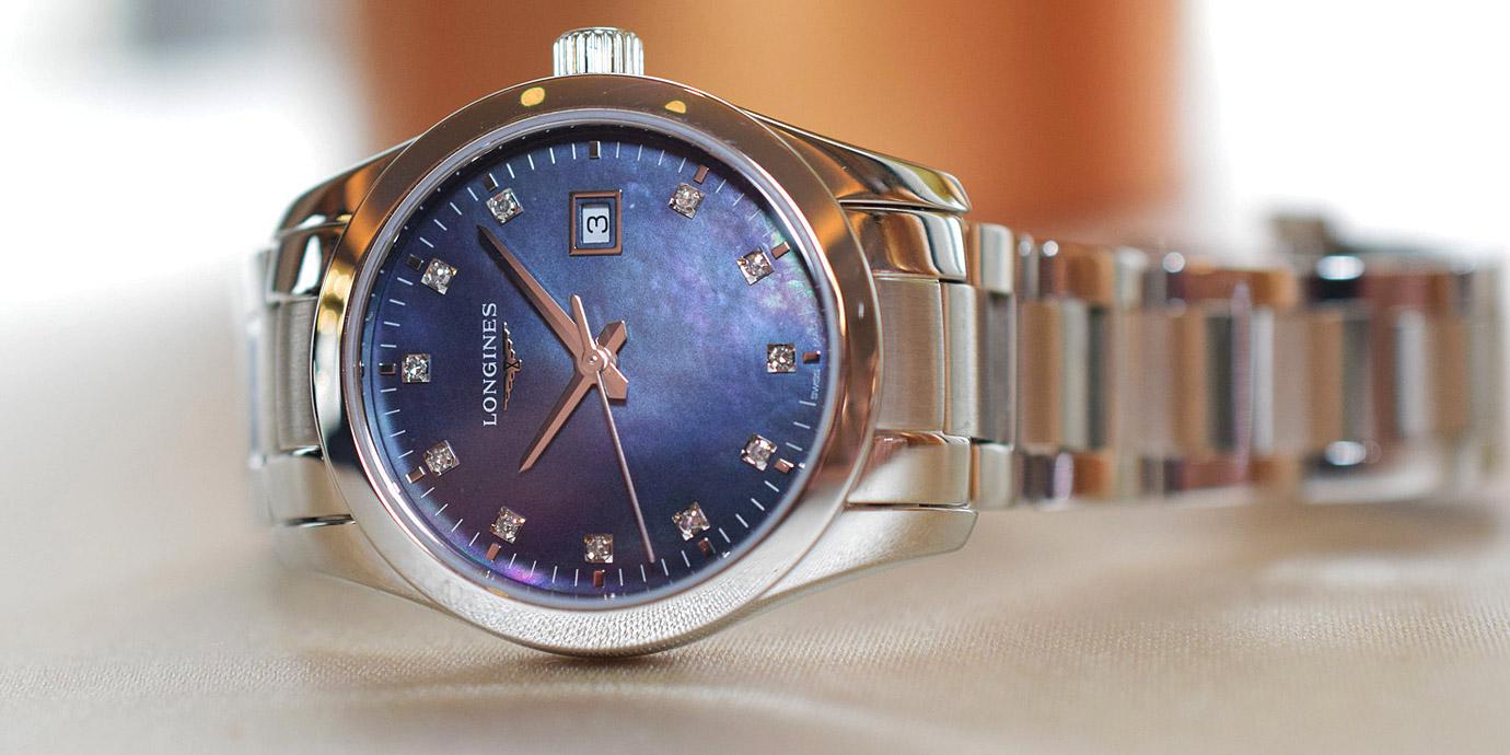 女性優雅新選擇:Longines Conquest Classic征服者經典系列女仕腕錶