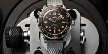 用復古風情陪伴詹姆士.龐德:Omega海馬潛水300米腕錶007版本