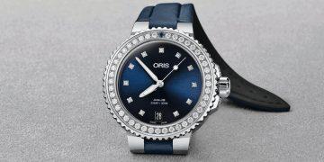 全方位湛耀無限女力:ORIS Aquis時間之海日期鑽錶