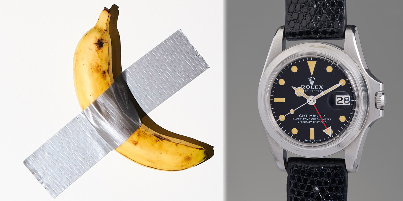 【錶語時事】從「香蕉與膠帶」來看PHILLIPS《Game Changer》拍賣會天價拍品