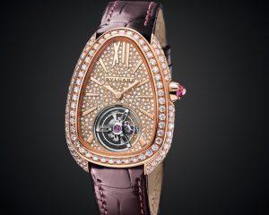 【LVMH Watch Week 2020錶展報導】閃耀鉅獻 驚豔市場:BVLGARI推出全世界最小的陀飛輪腕錶—Serpenti Seduttori Tourbillon