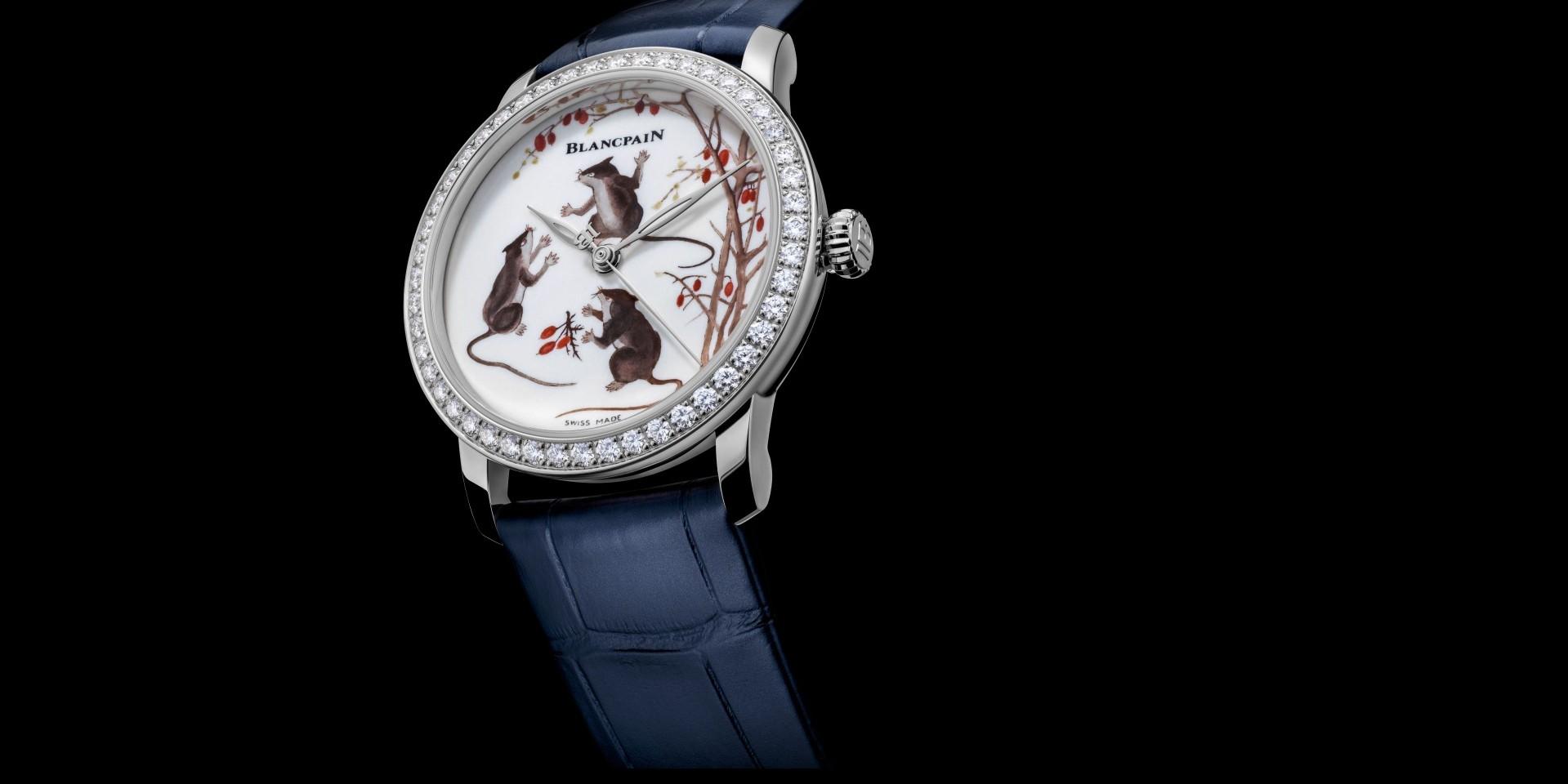 實「鼠」雅趣:寶珀Métiers d'Art鼠年古瓷工藝腕錶