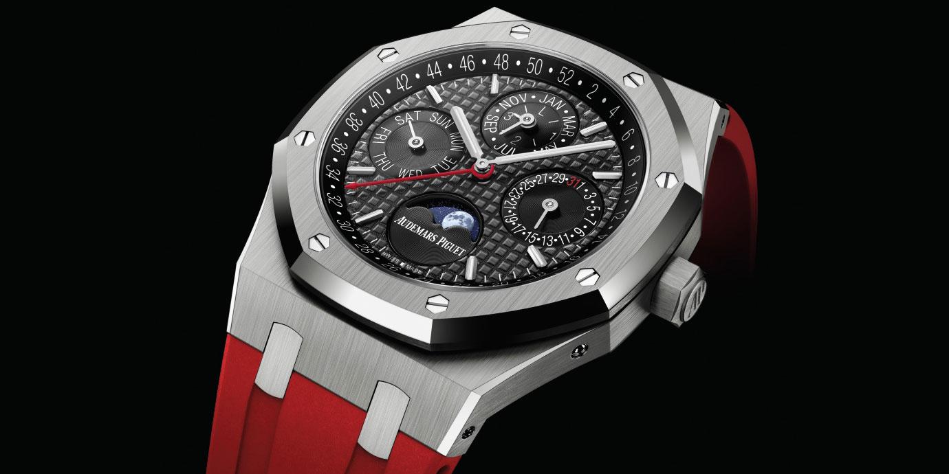 今年最「紅」的皇家橡樹:Audemars Piguet Royal Oak萬年歷腕錶中國限量版