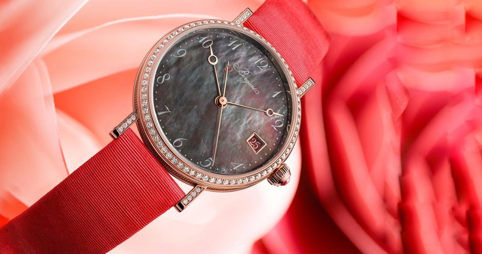 許妳一個絕美2020情人節—寶璣Classique 9065經典系列大溪地珍珠母貝鑽錶