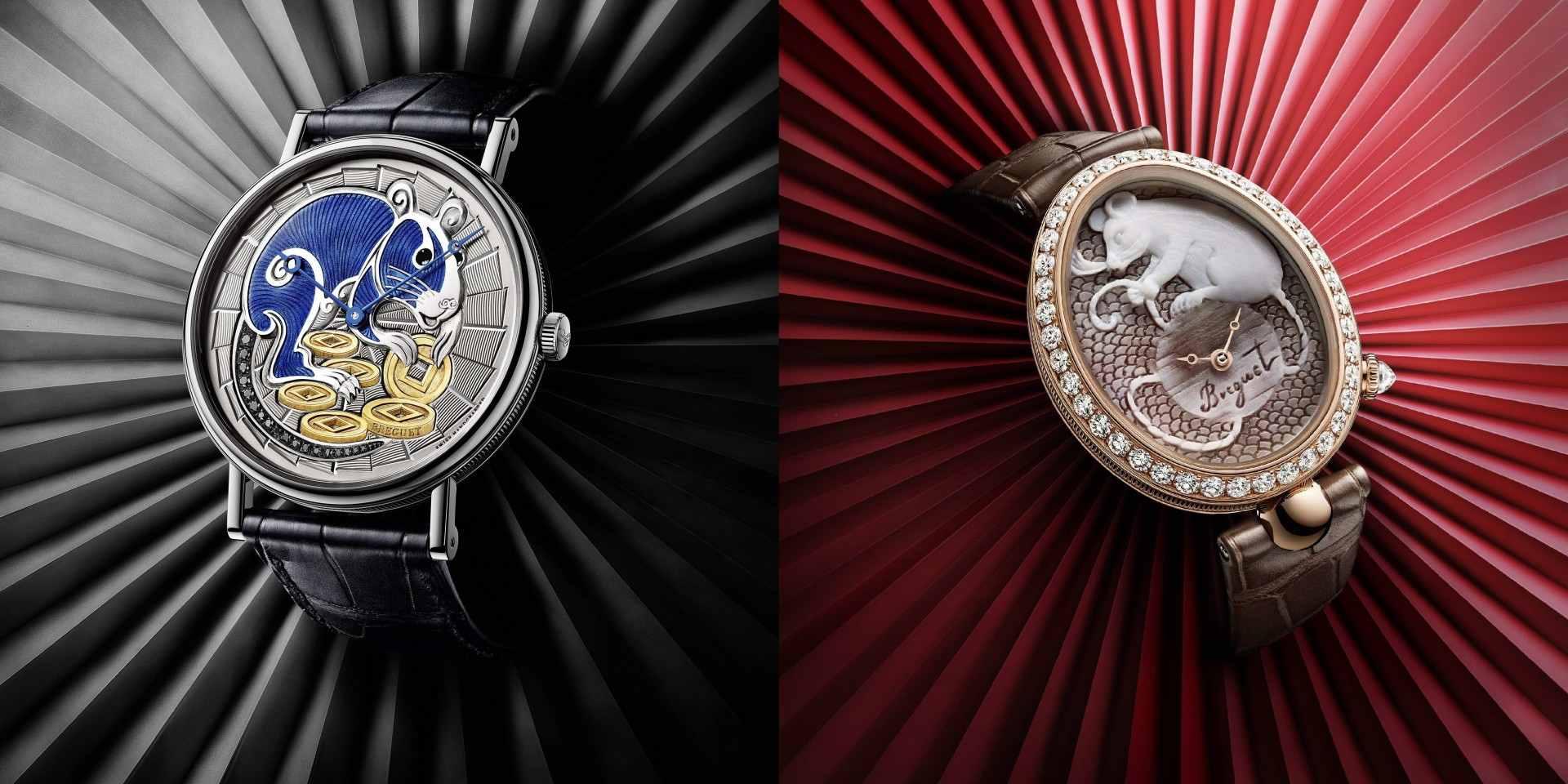 靈動瑞鼠獻工藝:寶璣推出Classique 7145經典系列及Reine de Naples Cammea 8955鼠年限量腕錶