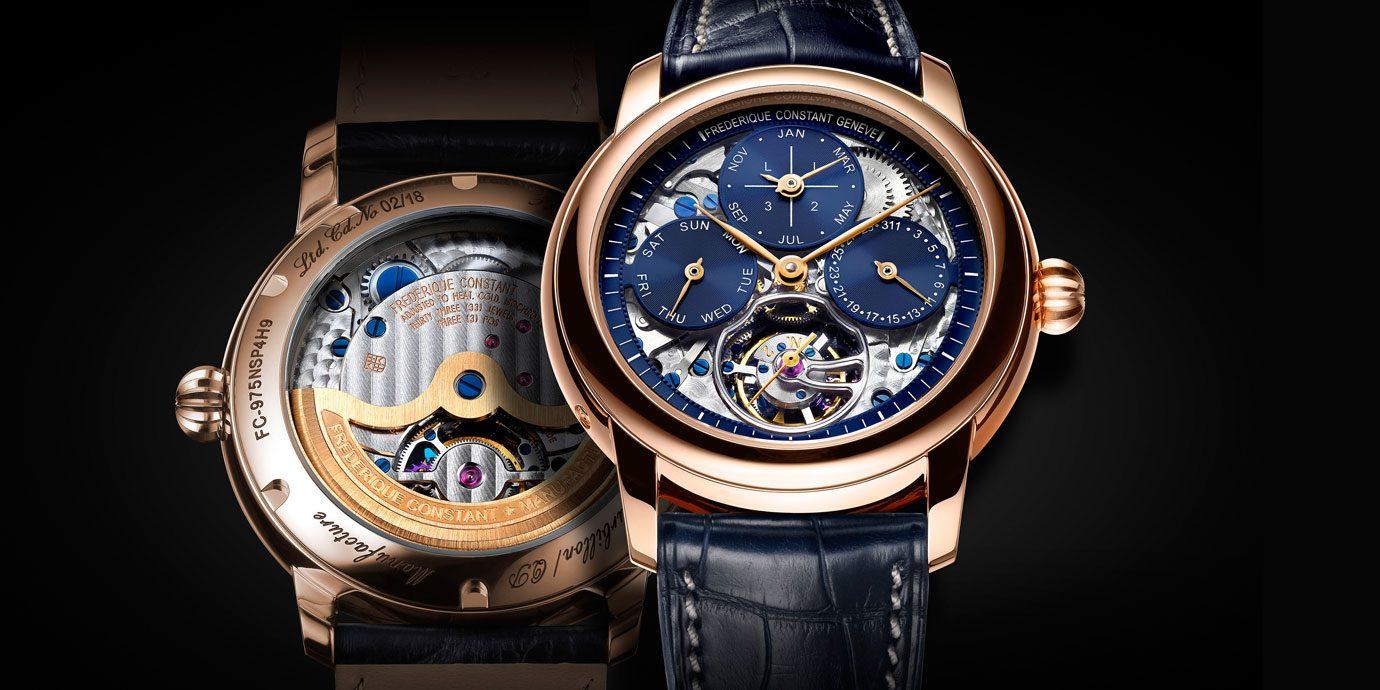 可觸及的奢華:康斯登陀飛輪萬年曆腕錶
