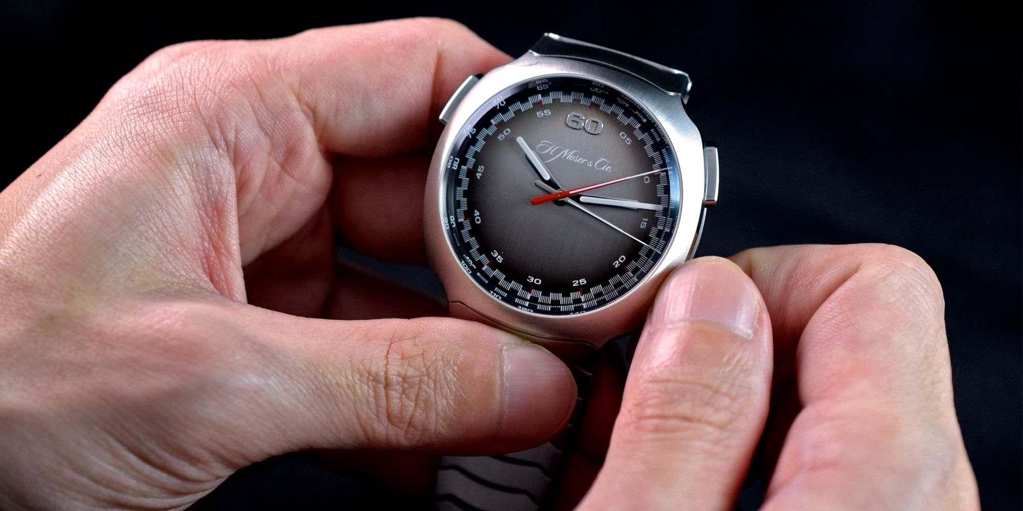 啟動腕上的高速火車:H. Moser & Cie.全新Streamliner飛返計時腕錶