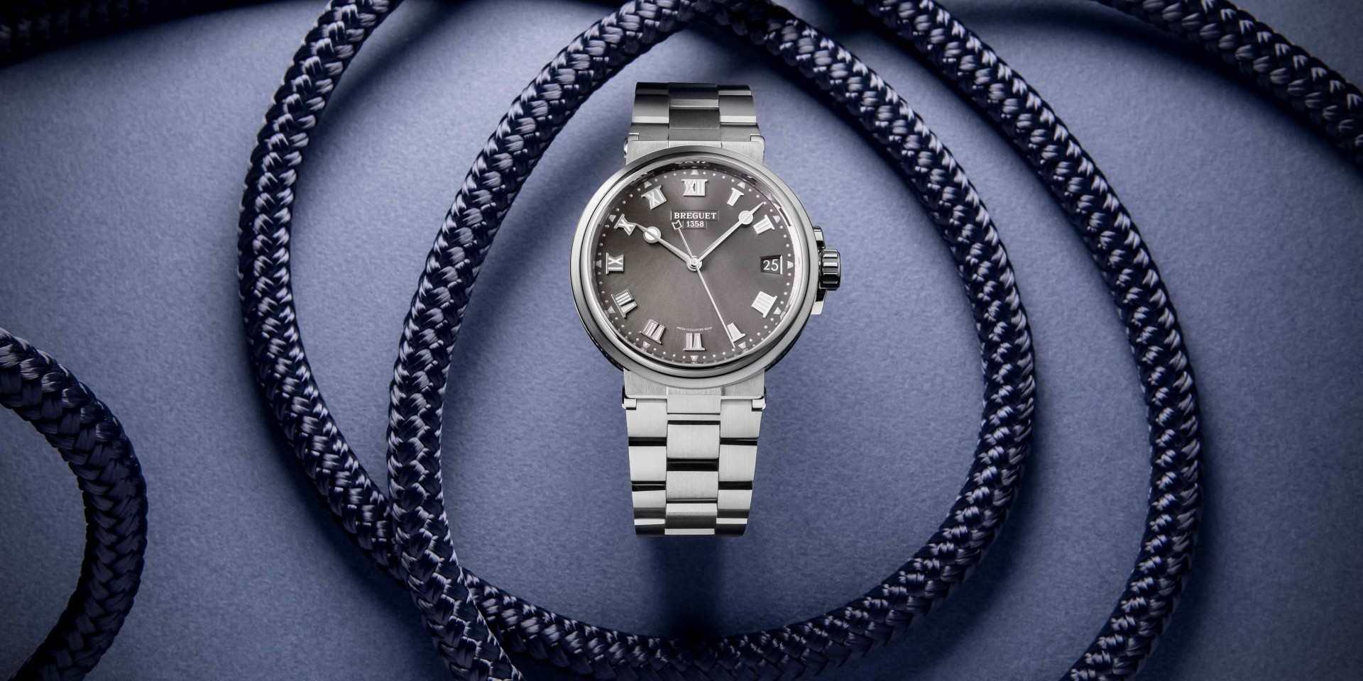 神仙眷侶遨遊熱戀之海:寶璣航海系列Marine 5517大三針腕錶與Marine Dame 9518仕女鑽錶