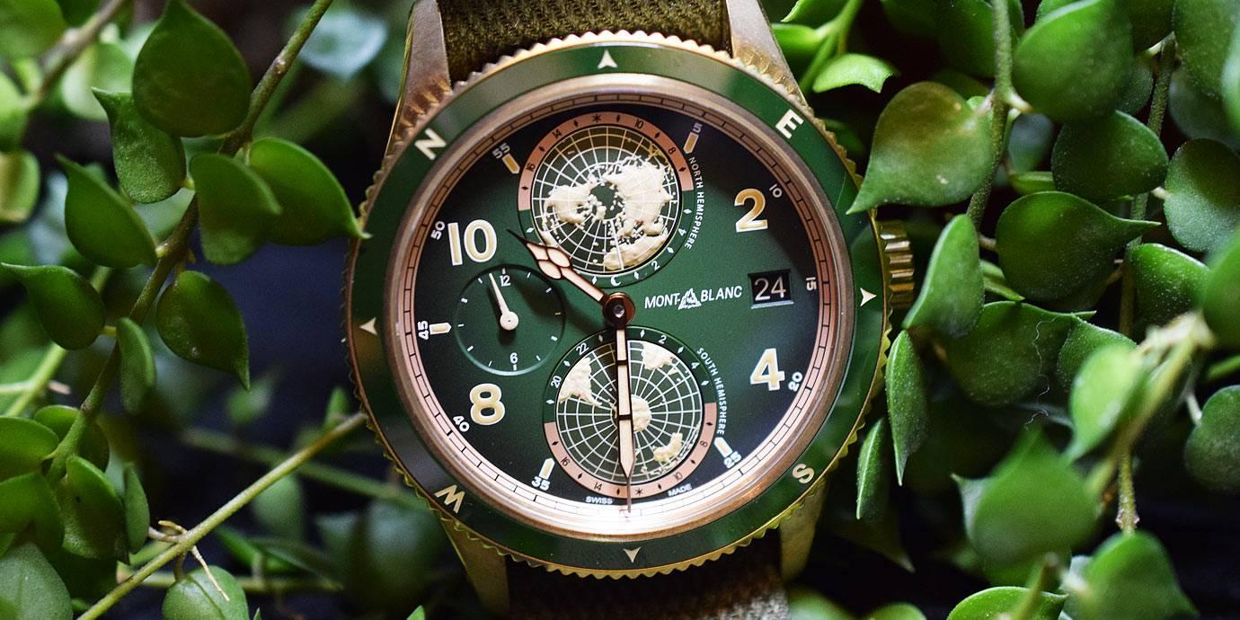 【每週一錶】過年繞著地球跑:Montblanc 1858 Geosphere腕錶
