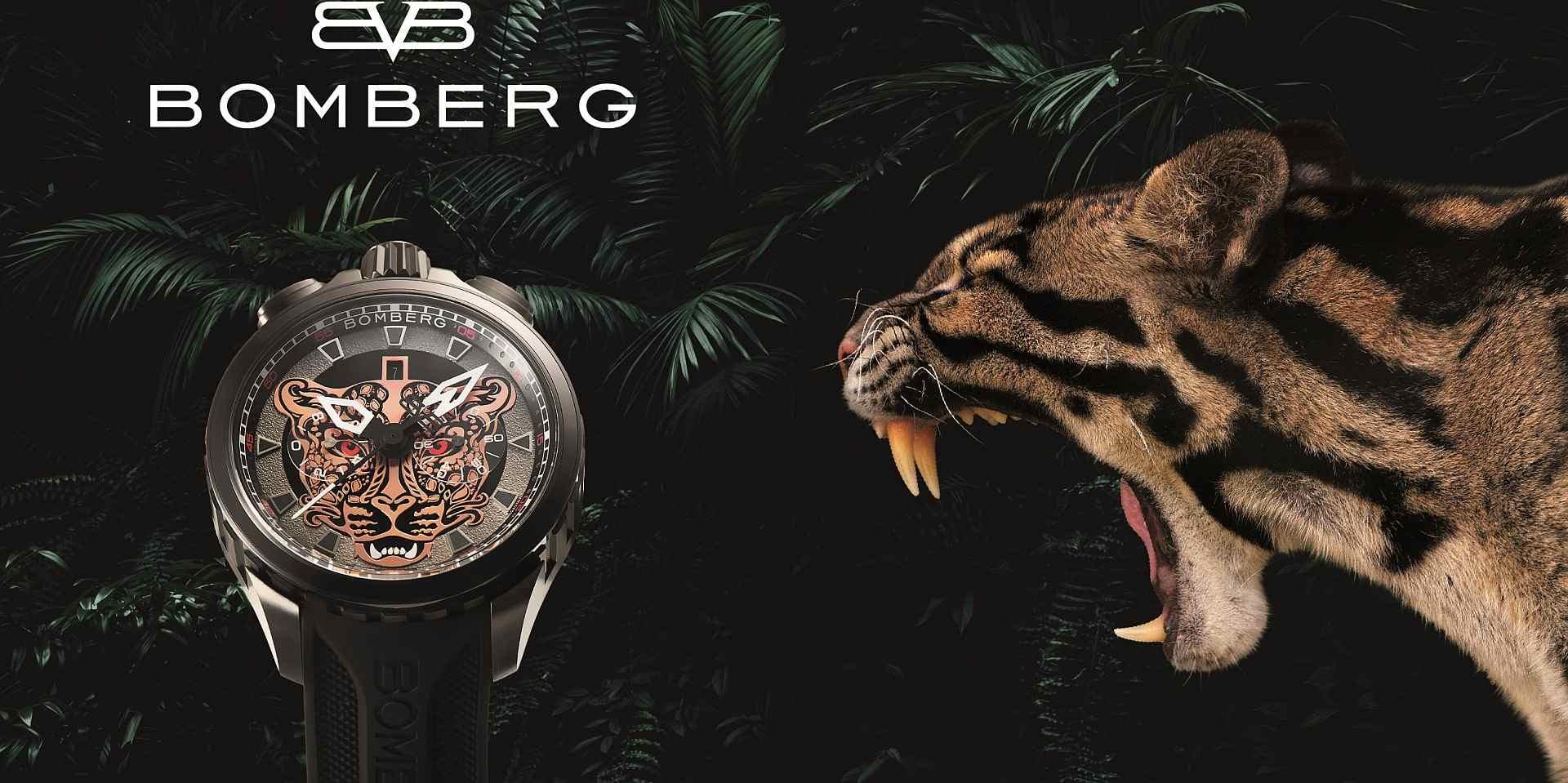 稀罕、美麗、個性:BOMBERG Bolt-68 山林魅影台灣雲豹限量腕錶