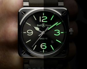 【2020 巴塞爾錶展預報】無論白晝黑夜,時刻清晰易讀:Bell & Ross BR 03-92 Grey Lum腕錶