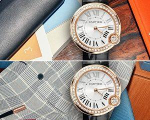 謹獻給優雅艷麗的情人:卡地亞 Ballon Blanc de Cartier 白氣球系列女士腕錶