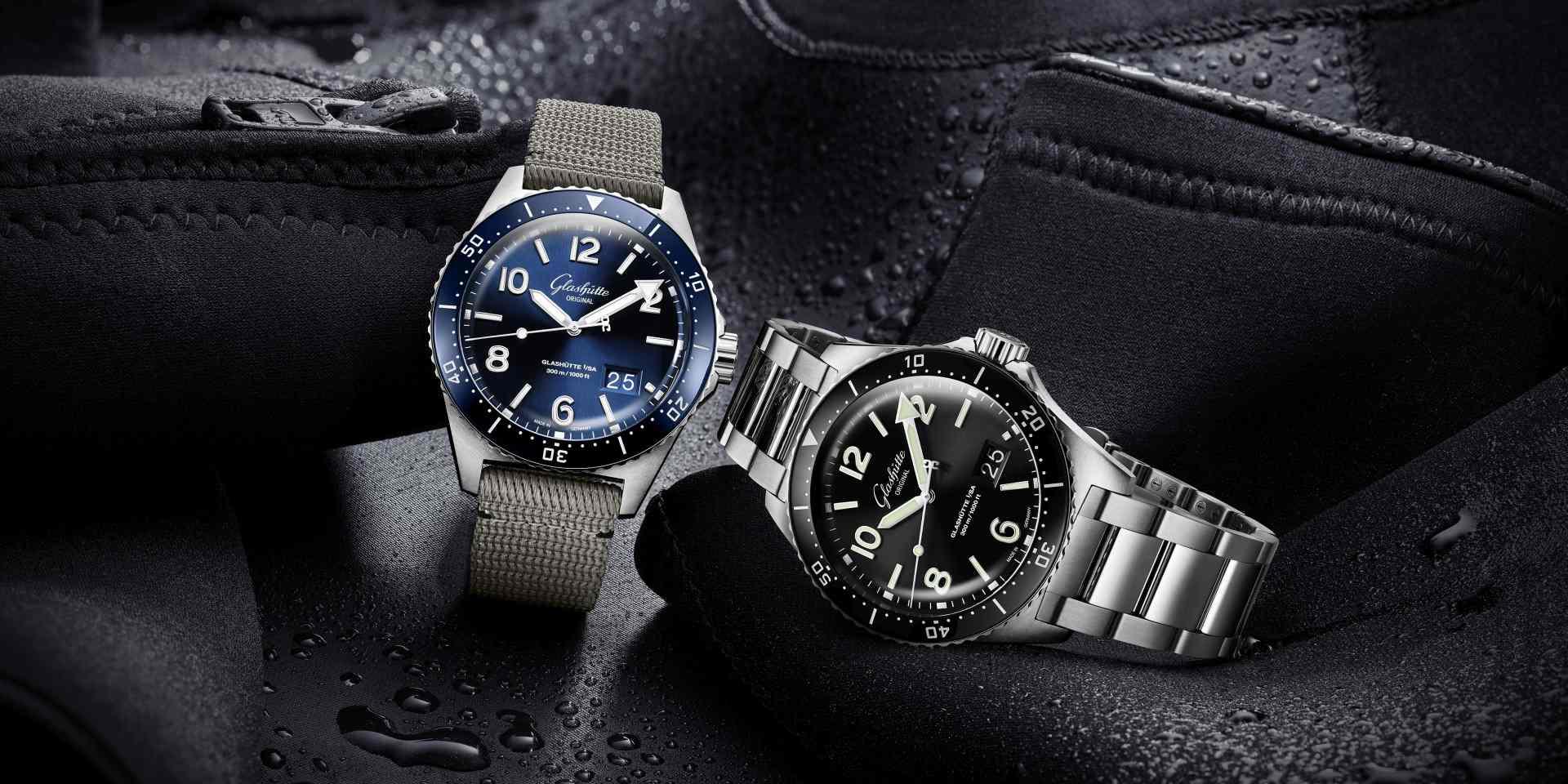 為潛水者而生的錶盤:Glashütte Original格拉蘇蒂原創SeaQ 系列令人驚豔的極致工藝