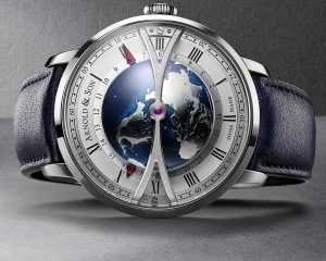 亞諾錶挺台灣:Arnold & Son Globetrotter Night 大旅行家世界時區腕錶推出台灣特仕版
