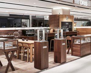 品咖啡、賞美錶:Oris全新Watch & Coffee複合式專賣店
