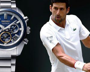 與世界球王共享2020澳網金盃榮耀,Seiko Astron 推出 Novak Djokovic 喬科維奇限量款