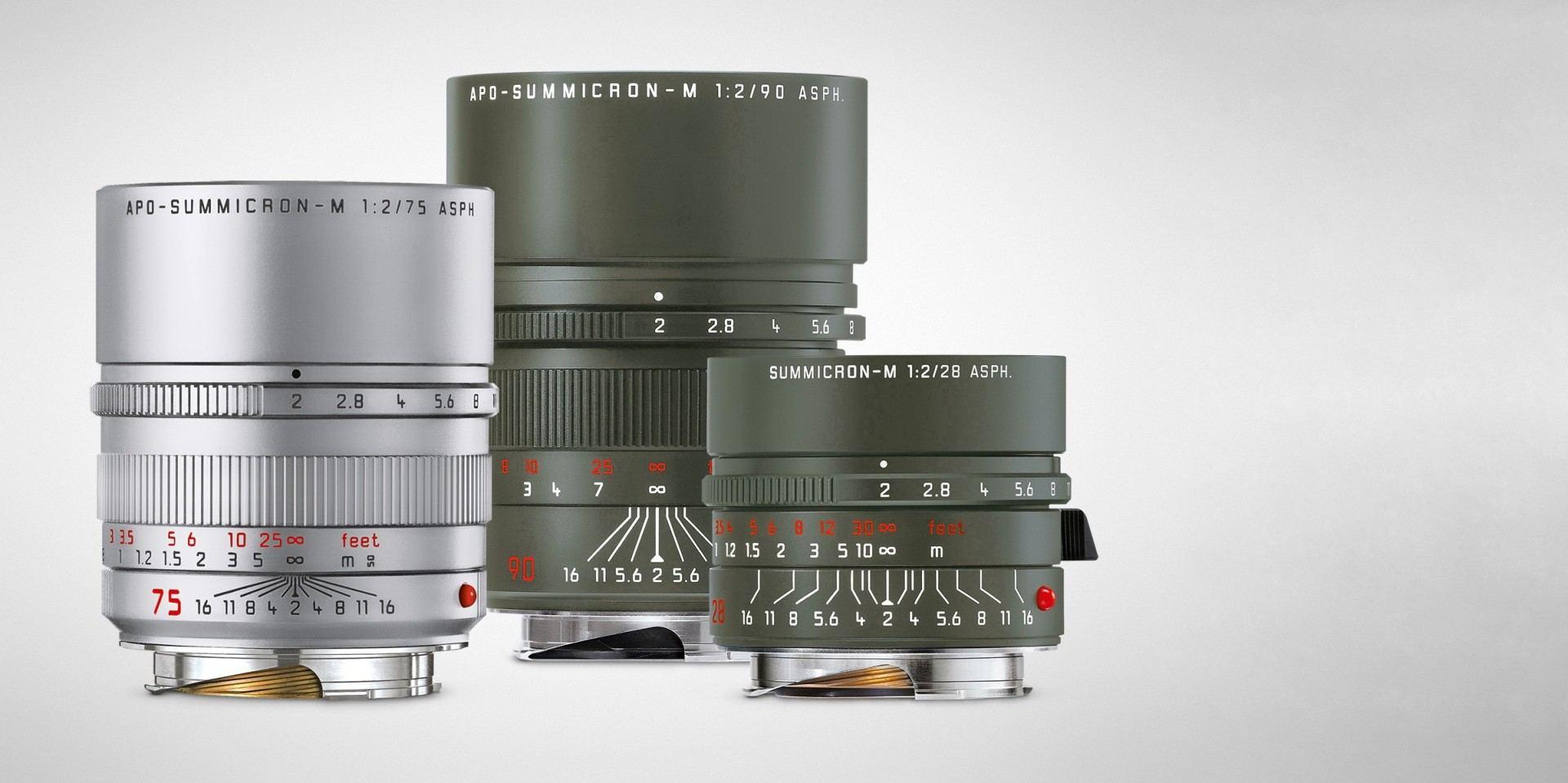 德國武裝軍隊配色為靈感:Leica推出新款M系列鏡頭
