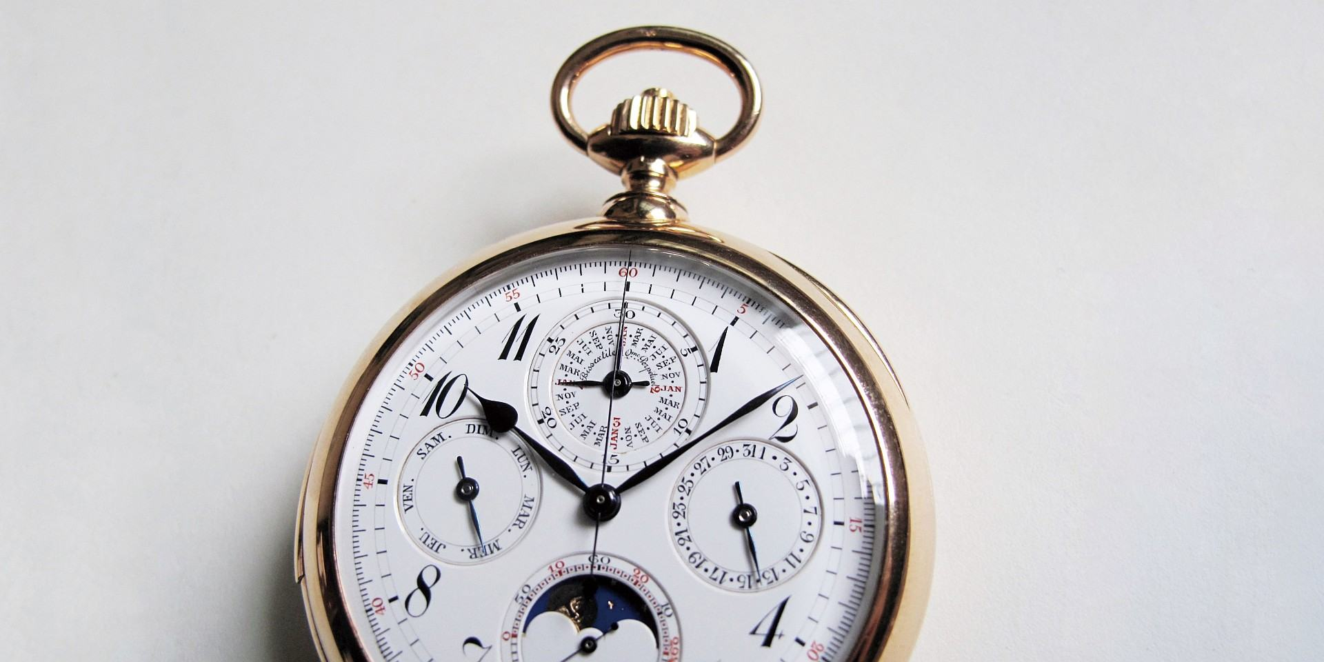 珍稀難尋的無名複雜懷錶