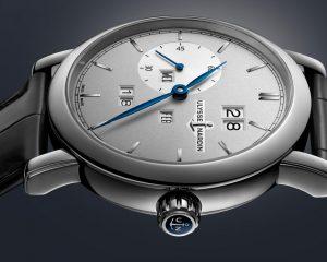 別出心裁的萬年曆設計:Ulysse Nardin Classic Perpetual Ludwig腕錶