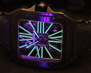 【每週一錶】這麼炫的Santos看過嗎?! 卡地亞Santos de Cartier Noctambule鏤空腕錶