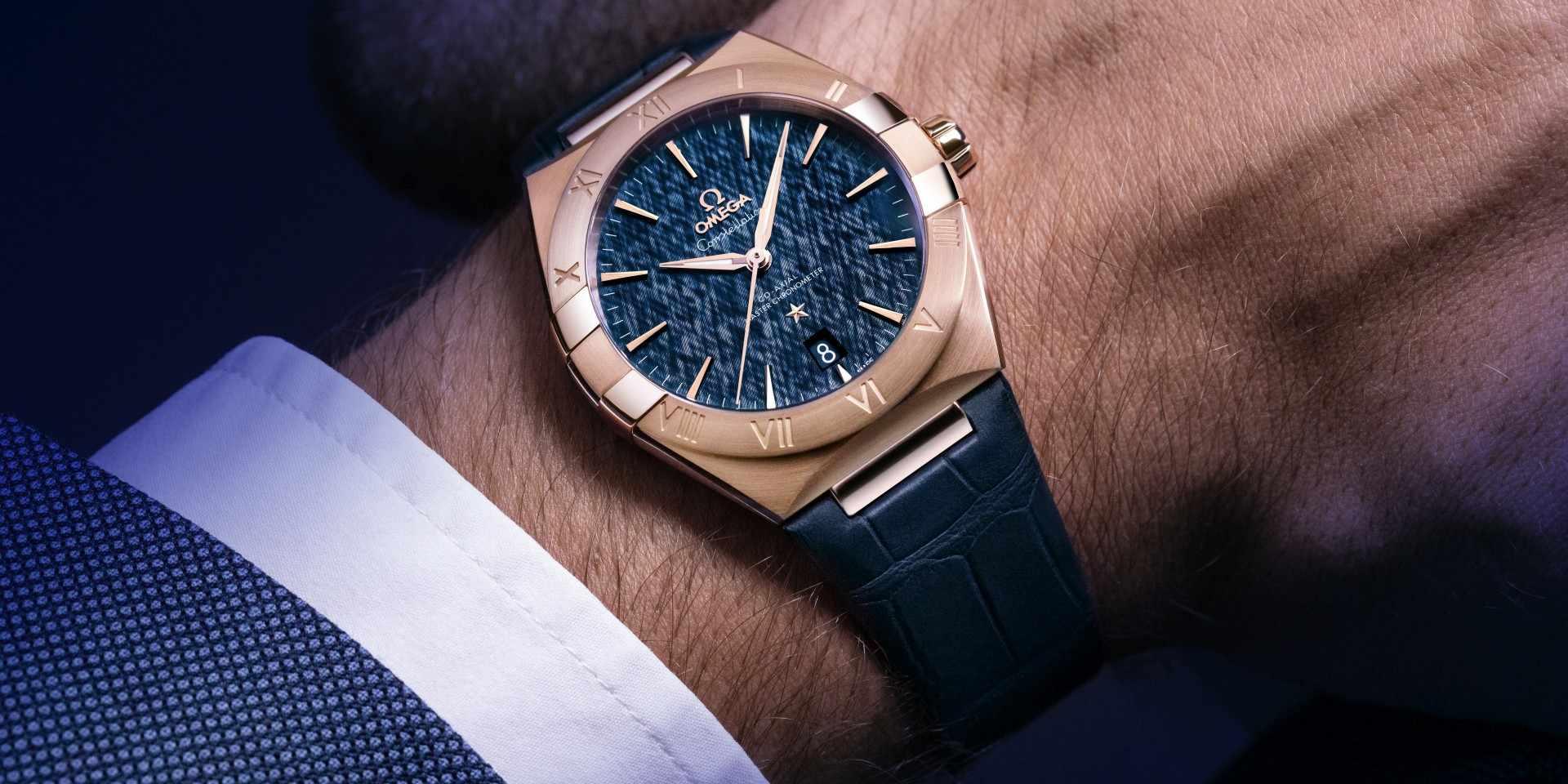 歐米茄Constellation星座系列全新同軸擒縱39毫米大師天文台腕錶,隆重登場