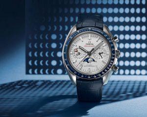 至尊級超霸!Omega新款Speedmaster同軸擒縱月相大師天文台計時腕錶