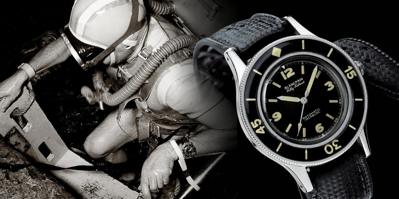 現代潛水錶之父的前世今生:Blancpain 五十噚的傳奇誕生