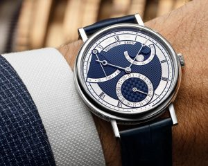 飽覽機刻雕花之美:寶璣Classique系列月相腕錶