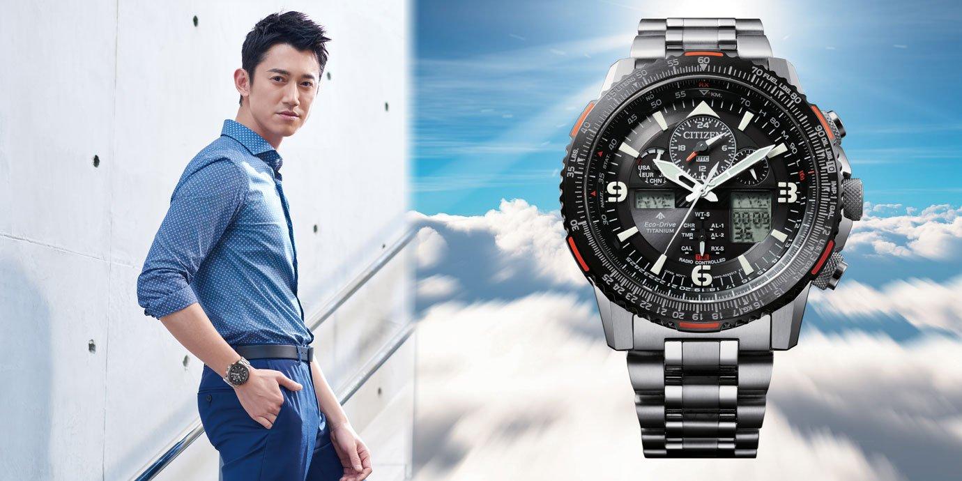 「鈦」輕了! CITIZEN Promaster專業飛行鈦金屬腕錶