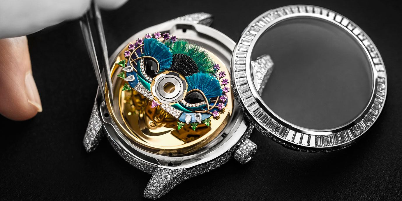 用自動盤說故事:Dior Grand Bal系列2020新款