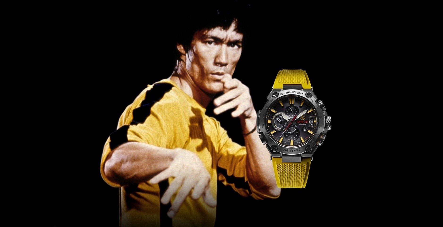 我們不是病夫,搶這支錶不用戴口罩:CASIO G-SHOCK MRG-G2000BL 李小龍紀念聯名錶款