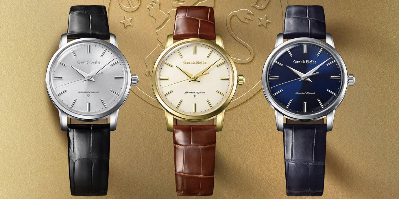 榮耀一甲子:首款Grand Seiko復刻腕錶登場